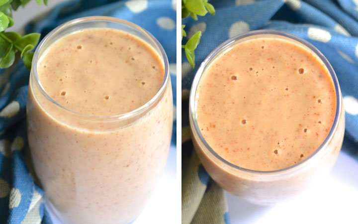 [Recipe] Apple Peanut Butter Chia Smoothie for Just 220 Calories