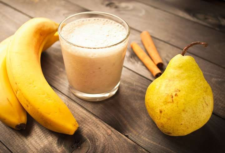 [Recipe] Creamy Cinnamon Pear Smoothie for Under 220 Calories