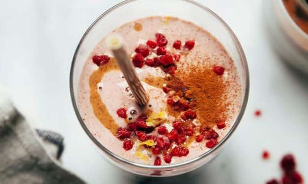 [Recipe] Tasty Raspberry Almond Smoothie Meal