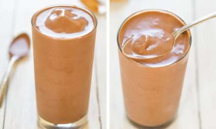 [Recipe] Indulgent or Light Thick n Fudgy Peanut Butter Banana Smoothie