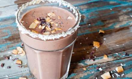 [Recipe] Tasty Chocolate Coconut Weight Loss Smoothie Meal