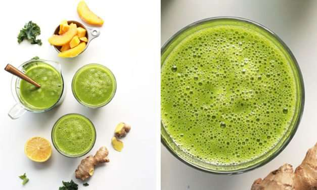 [Recipe] Tasty Mango Green n Ginger Smoothie for Just 210 Calories