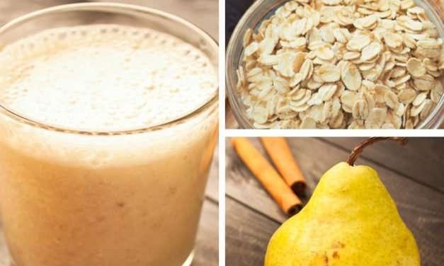 [Recipe] Immune-Boosting Pear Oat n Kefir Smoothie