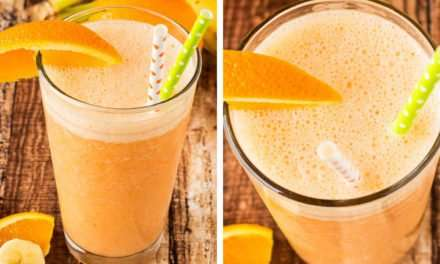 [Recipe] Sunshine Orange Smoothie