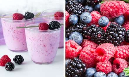 [Recipe] Variations on a Berry Healthy Smoothie from Only 120 Calories