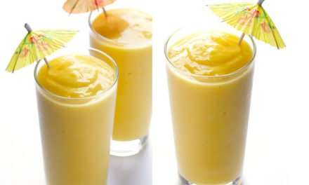 [Recipe] Tropical Orange Smoothie Just 155 Calories