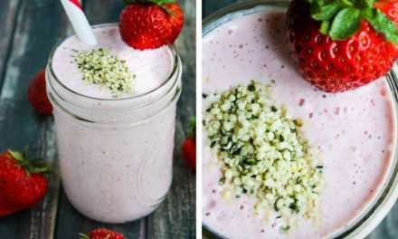 [Recipe] Protein-Rich Strawberry Smoothie from Just 125 Calories