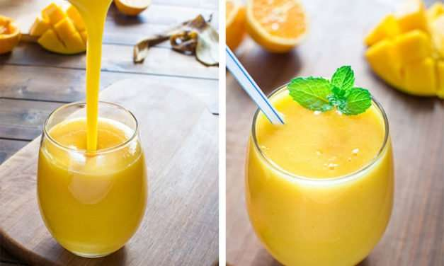 [Recipe] Fruity Orange n Mango Smoothie