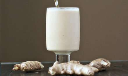 [Recipe] Spicy Ginger Smoothie – Great for Colds But Not for Wimps!