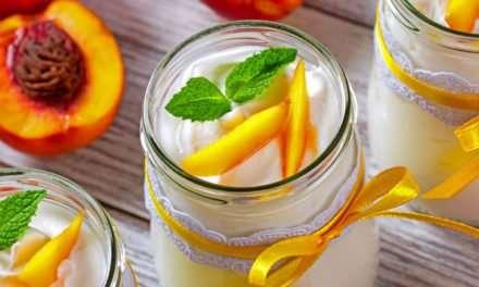 [Recipe] Peach PB Green Smoothie