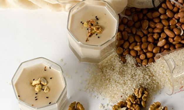 [Recipe] Walnut Peanut Smoothie with an Oriental Twist