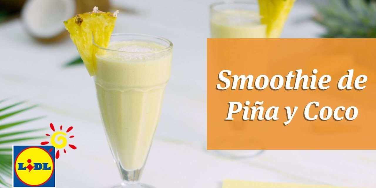 [Video Recipe] Smoothie de Pina y Coco por Postre from only 150 Calories