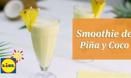 [Video Recipe] Smoothie de Pina y Coco por Postre from only 150 Calories